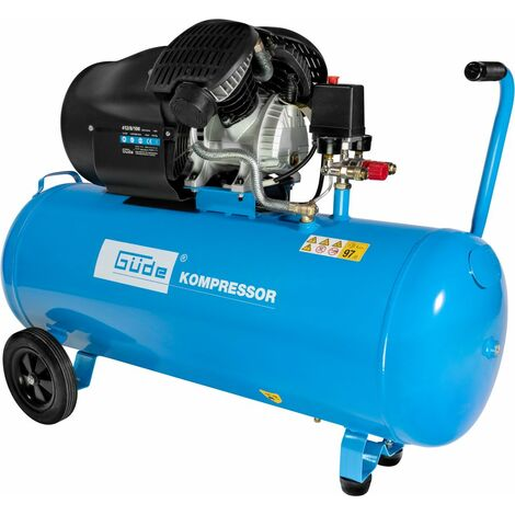 G�DE 412/8/100 - Compresor bicil�ndrico de 100 litros