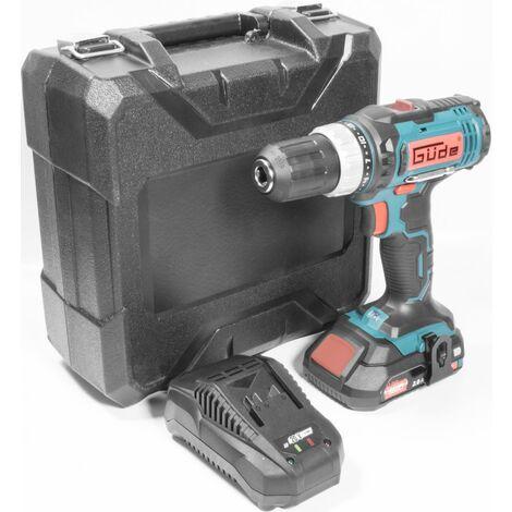 G�DE BS 20-201-24 K - Taladro atornillador 20V con bater�a de litio 2Ah, estuche y accesorios