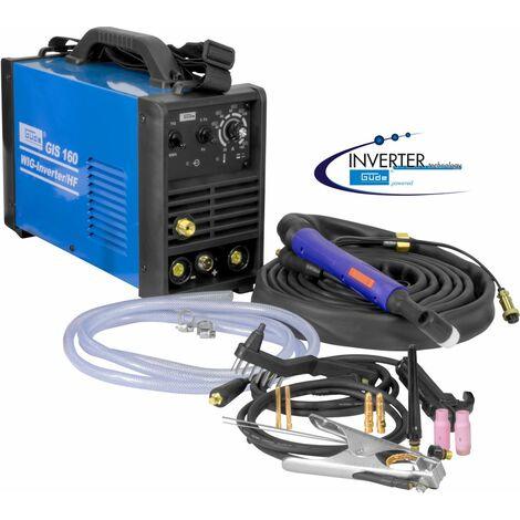 G�DE GIS 160 TIG / HF - Soldador inverter de alta frecuencia TIG 160A