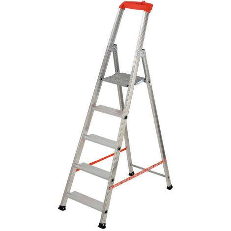 GIERRE AL710 - Escalera de aluminio de tijera Stabila (4 peldaños)