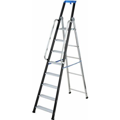 Gierre - Escalera profesional Stabila Pro 7 peldaños EN131