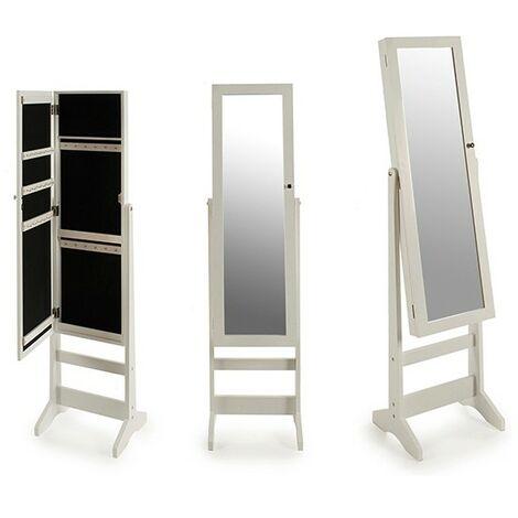 Gift Decor Espejo de pie Blanco (30 x 137 x 34 cm)
