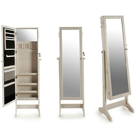 Gift Decor Espejo de pie Blanco Madera (37 x 146,5 x 41 cm)
