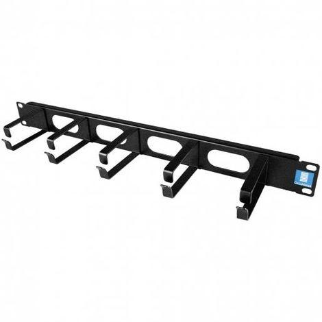 """Gigamedia ARPPCA1N - Backboard cables guide - 19"""" - 1U - black"""