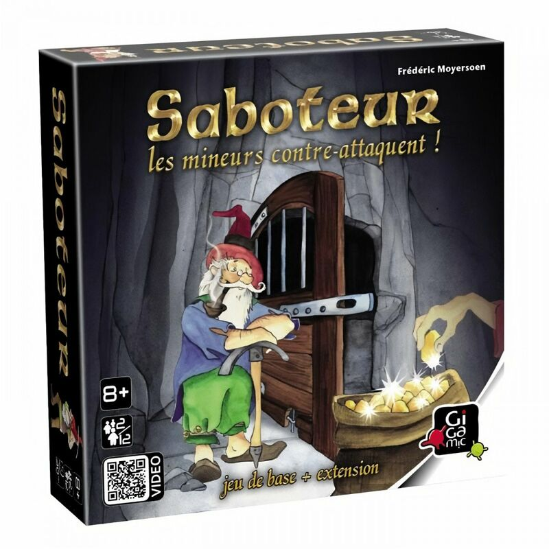 GIGAMIC - SABOTEUR 2 : Les mineurs contre-attaquent (NF)