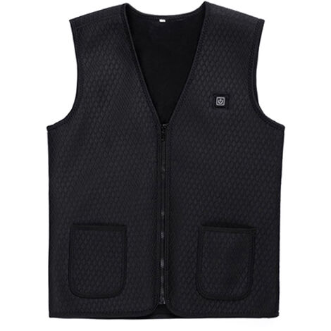 Gilet Chauffant Intelligent, Gilet Chauffant Infrarouge A Chargement Usb, Type 5, Taille 2Xl