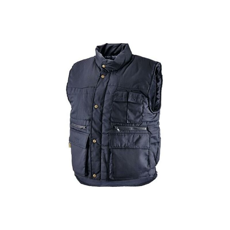 colore: blu navy//nero da lavoro Gilet invernale Cofra POLAR