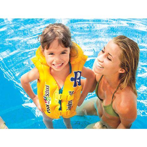 Gilet de natation gonflable Pool School
