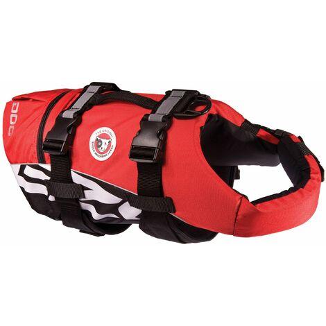 Gilet de sauvetage pour chien Rouge - XS