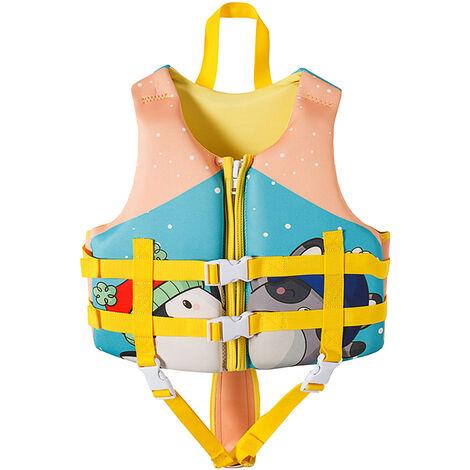 Gilet De Sauvetage Pour Enfants, Maillot De Bain De Flottabilite D'Entrainement De Natation, Style Pingouin, Taille S / M