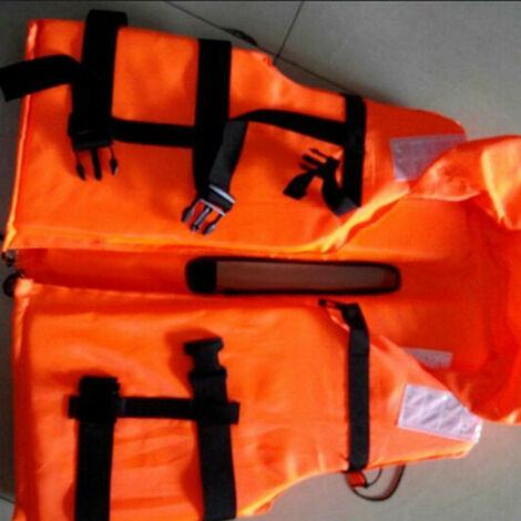 Gilet de sauvetage, trompette orange