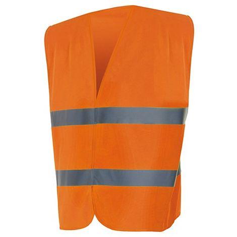 RG Clothing Hivis Gilet de Travail de s/écurit/é Haute visibilit/é avec Fermeture /éclair et Poches