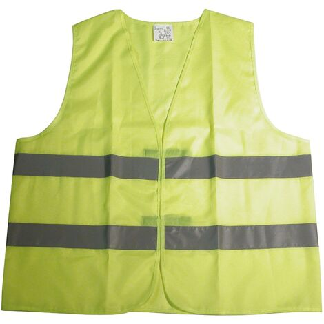 Gilet de securite jaune reflechiss. XL [321810] Generique