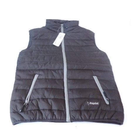 Gilet de travail sans manches noir taille L 100% polyester 60g/m² THERMIC EASY KAPRIOL 32076