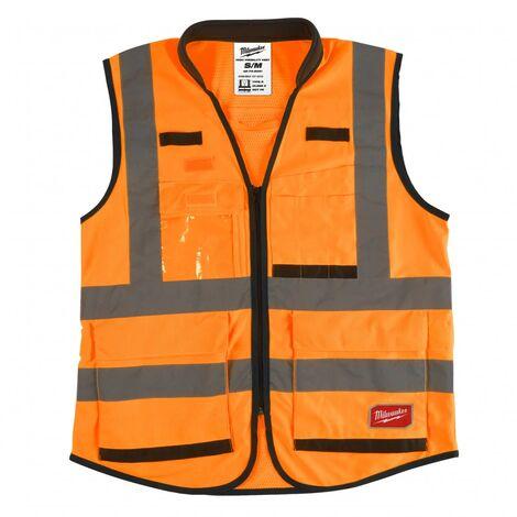 Gilet haute visibilité orange Premium XXL   4932471900 - Milwaukee