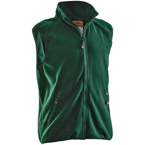 Gilet polaire JOBMAN 7501, vert