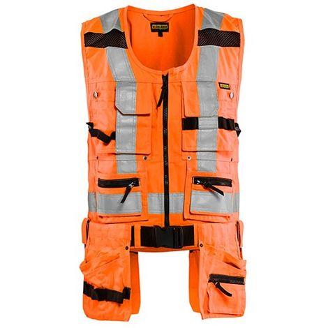 Gilet porte-outil haute-visibilité - 5300 Orange fluo - Blaklader