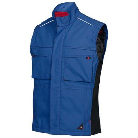 Gilets thermique 1786 555, Taille L,bleu royal/noir