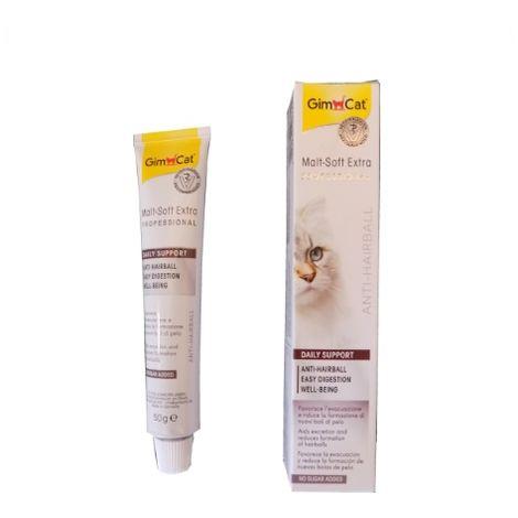 GimCat Malta Soft Extra PRO, pasta para gatos - 10 tubos 50 gr.