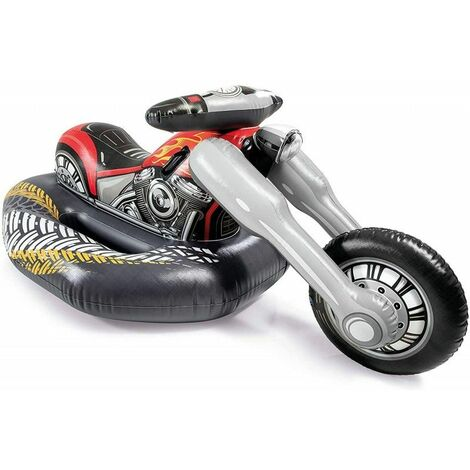 "main image of ""Gioco Gonfiabile Intex Motorbike Ride-On"""