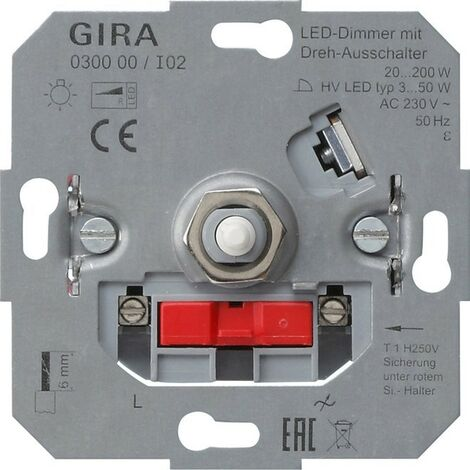 Gira LED-Dimmeinsatz 030000