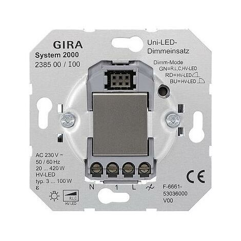 Gira LED-Univers.-Dimmereinsatz 238500