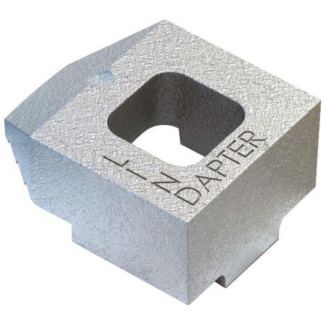 Girder clamp component Malleable iron Hot dip galvanized B medium