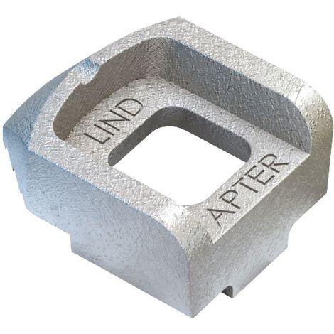 Girder clamp component Malleable iron Zinc plated A short
