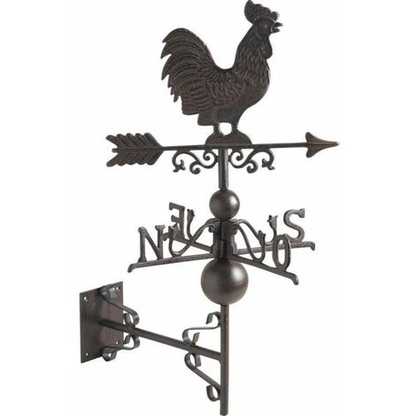 """main image of """"Girouette coq en fonte"""""""