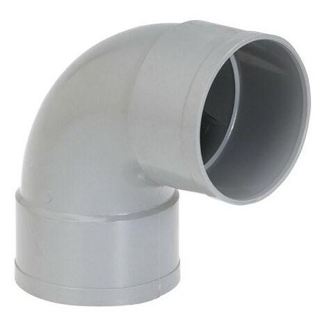 GIRPI - Coude PVC femelle femelle 87° - D : 100 mm