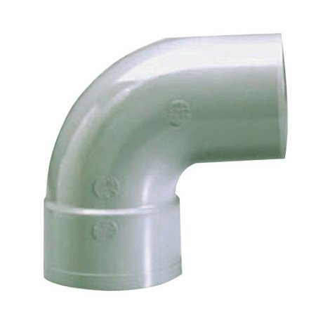 GIRPI - Coude PVC mâle femelle 87° - D : 100 mm