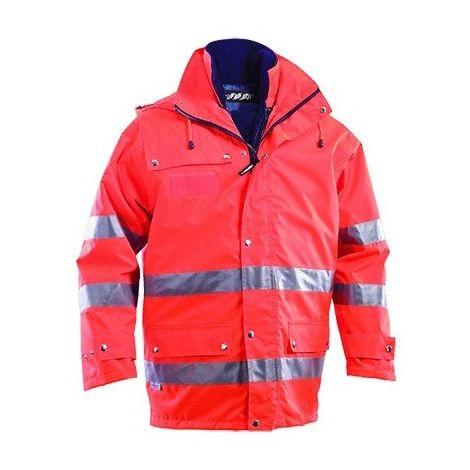 hot sale online 3290b dc992 GIUBBINO 'PARKA' TRIPLO USO taglia L - colore arancio