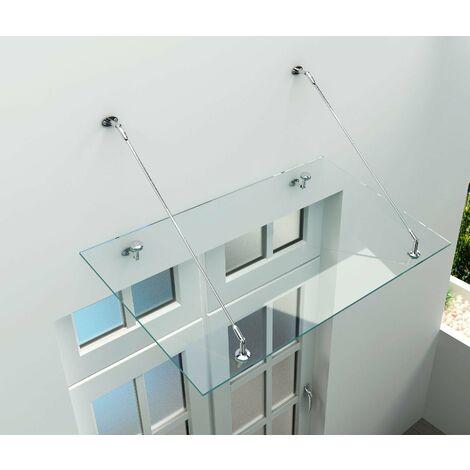 Glas-Vordach