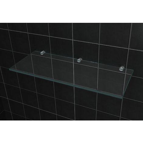 Glas-Wandregal 50 x 20 cm