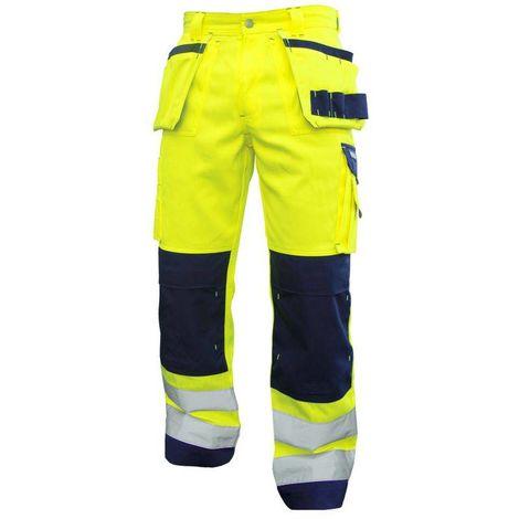 GLASGOW pantalon de travail haute visibilité multipoches Dassy