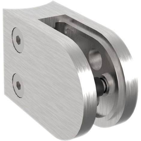 Glasklemmbeschlag Modell 25 für Rundrohr 42,4 mm, rund