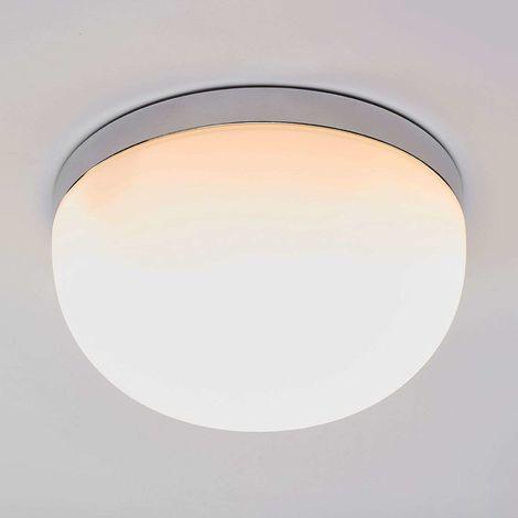 Glass ceiling light Adalind, 28 cm