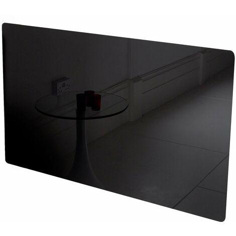 Glass Far Infrared Heater Panel - Black