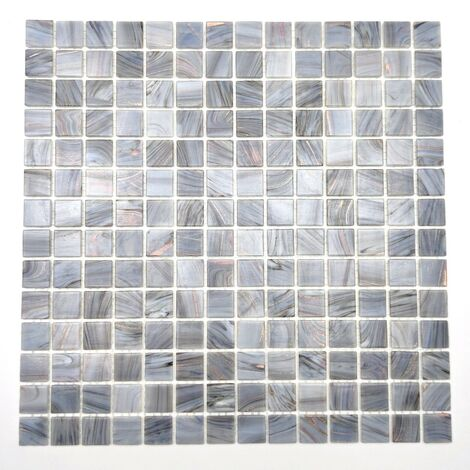 Glass mosaic bathroom and shower tiles Speculo Charron