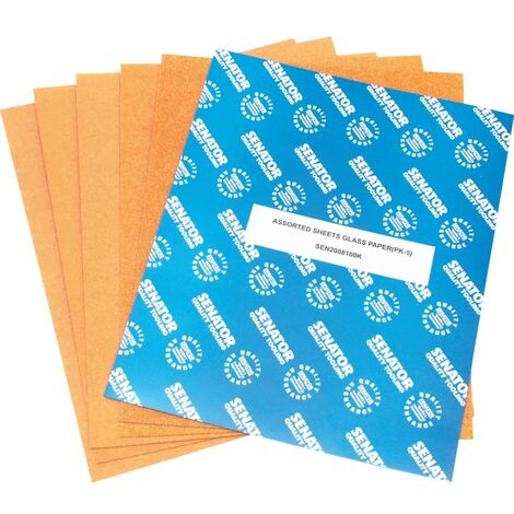 Glass Paper Sheets Pk 50