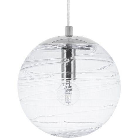 Glass Pendant Lamp Transparent MIRNA