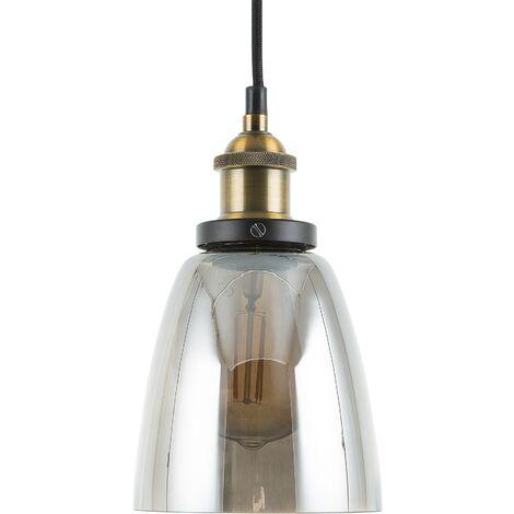 Glass Pendant Lamp Transparent PARMA