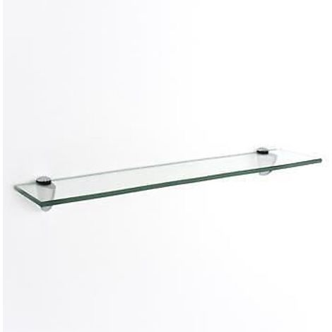 glass shelf kit - clear Width : 600mm