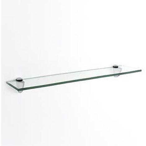 glass shelf kit - clear Width : 800mm