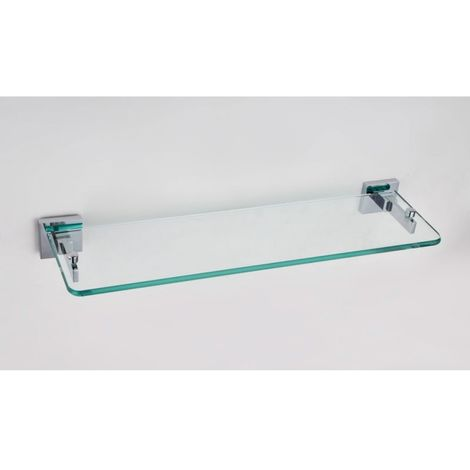 Glass Shelf Modern With Brackets