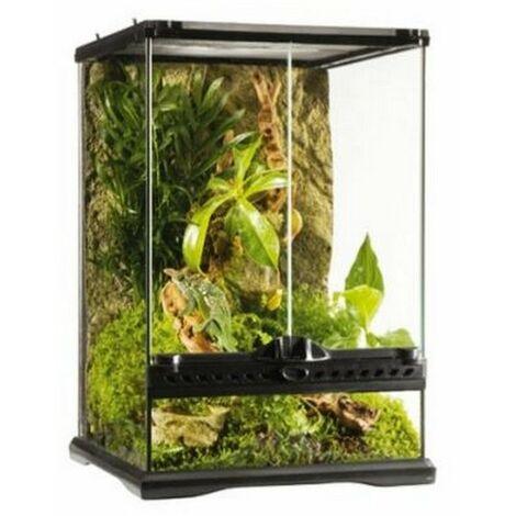 Glass terrarium exoterra 45x45x60h
