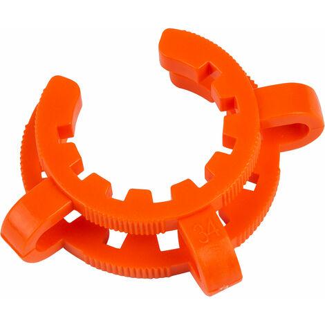 Glassco Plastic Joint Clip, B34, Orange Pack of 10
