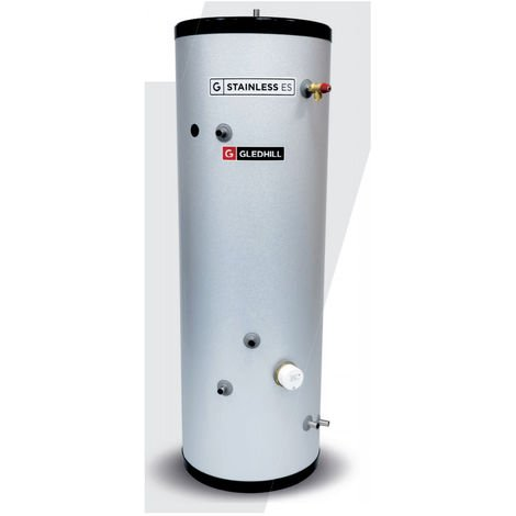 Gledhill 120 Litre Stainless ES Indirect Unvented Cylinder