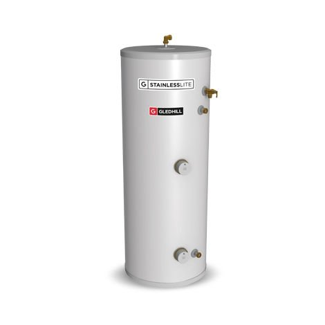 Gledhill 150 Litre Stainless Lite Plus Direct Open Vented Cylinder