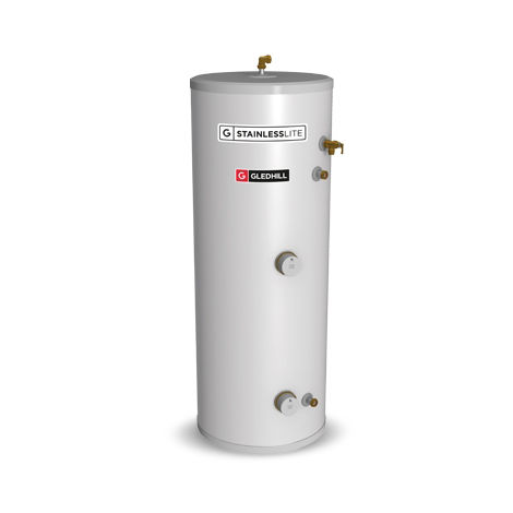 Gledhill 180 Litre Stainless Lite Plus Direct Open Vented Cylinder